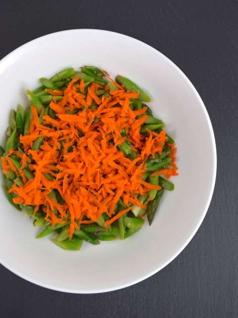 Asparagus and Carrot Salad