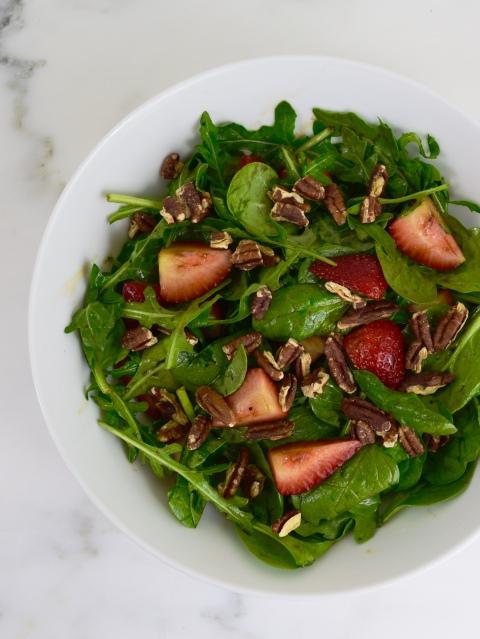 Spinach & Arugula Salad