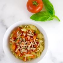 Simple Tomato Basil Pasta