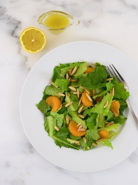 Orange Almond Salad