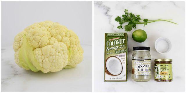 Cauliflower Rice with Coconut & Cilantro