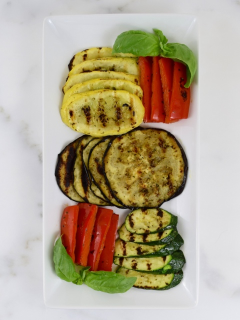 Healthy Grilled Summer Vegetables