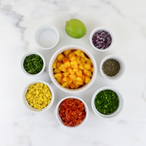 """Perfect"" Peach Salsa"