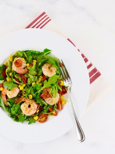 Shrimp Salad with Chili-Tomato Vinaigrette