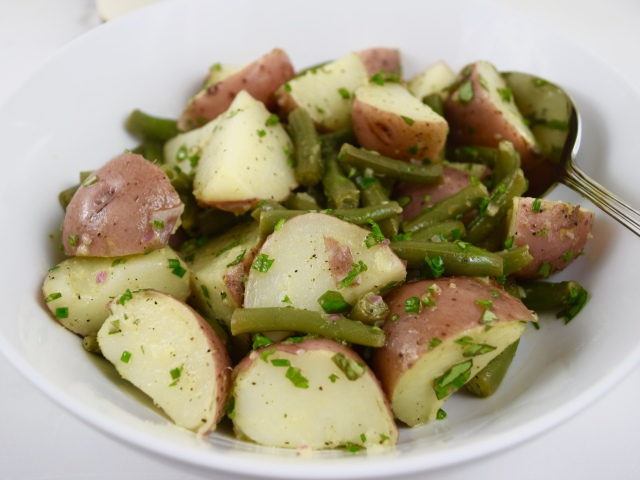 Summer Garden Potato Salad