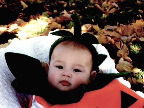 Laura's First Halloween