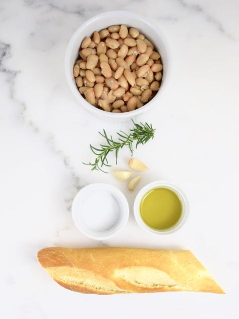 White Bean Crostini