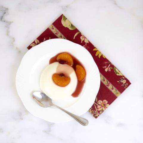 Almond-Tangerine Panna Cotta