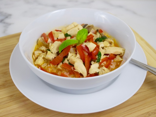 Easy Thai Red Curry Chicken