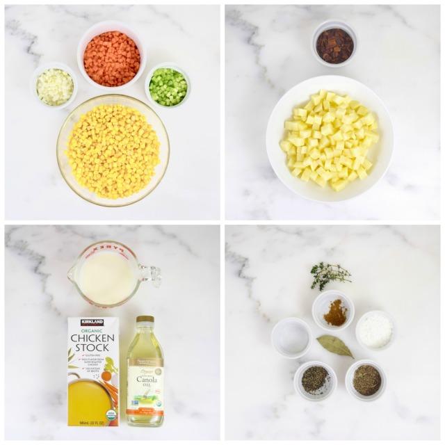 Light Corn Chowder