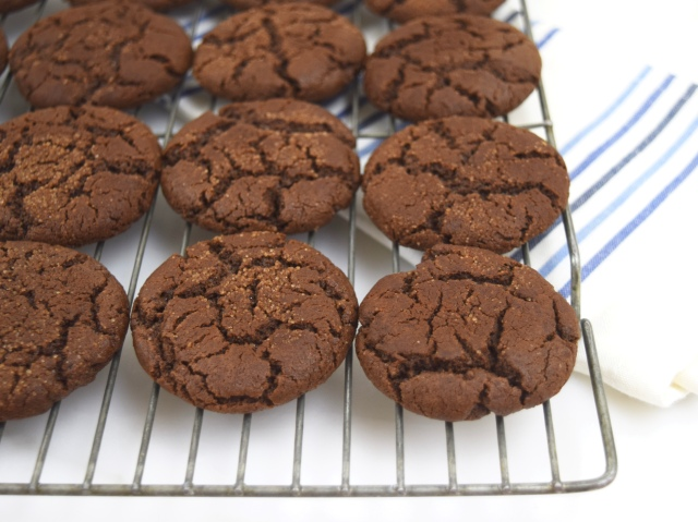 Chocolate Espresso Snickerdoodles
